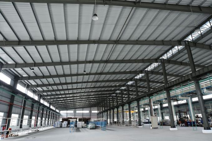 Prefabricated Steel Structure Warehouse Light Gauge