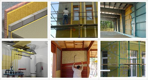 Thermal And Acoustic Weather Proof Rock Wool Insulation High Temperature