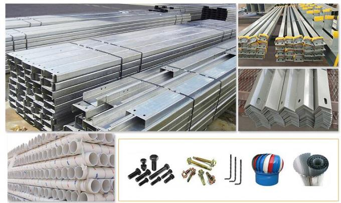 Q345B Standard -New H Type Steel Structure Materials For Workshop & Warehouse