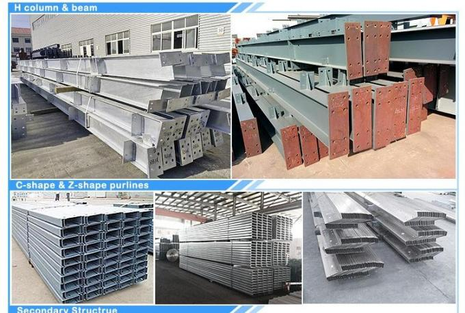 Q355 Warehouse Steel Structure 0