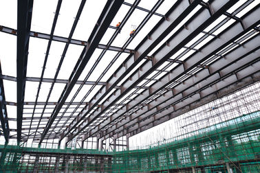 China Low Carbon Steel Building Steel Frame Fabrication For Gymnasium supplier