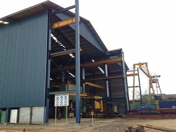 China Prefabricated Light Steel Structure Residential Steel Buildings For Factory supplier