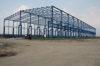 China Posco Factory Building Steel Frame Light Gauge 43000 Square Meters supplier