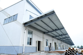 China New Multifunctional Building Steel Frames For Industrial Workshops & Warehouses supplier
