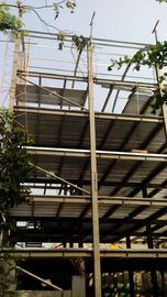 China High Rise Steel Structures , Painting Galvanized Construction Steel Structure supplier