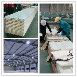 China 1 Floor Industrial Steel Structures , H Beams Steel With Steel Cladding Buildings supplier