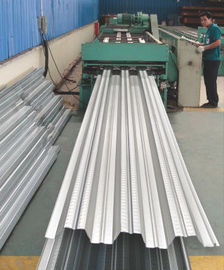 China Galvanized Corrugated Steel Roofing Sheets / Floor Deck For Muti - Floor Buildings supplier