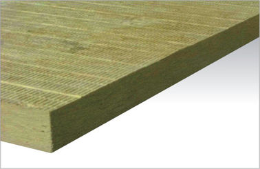 China Heat Resistant Acoustic Wall Rock Wool Insulation Soundproofing supplier
