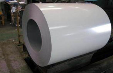 China White Prepainted Galvalume Steel Coil For Refrigerated Wagon supplier