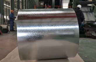 China Zinc Coated Strips Hot Dipped Galvanized Steel Coils Corrosion Resistant supplier