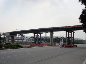 China Industrial H Section Steel Framed Structures Pedestrian Overcrossing supplier