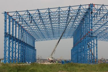 China ISO Standard Larger Span Workshop Steel Structure Construction supplier