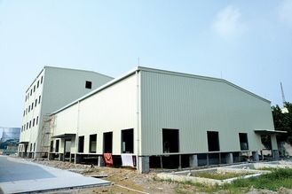 China Fast Assembling Metal Frame Structure , Steel Bar Commercial Metal Buildings supplier