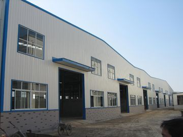 China High Strength Bolt Prefabricated Steel Structure Building For Garage-For Hangar supplier