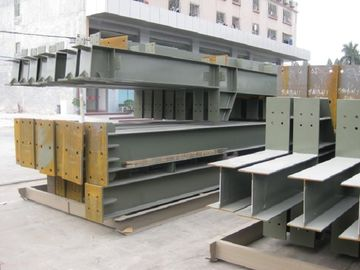 China High Strength Low Carbon Workshop Steel Structure With Epoxy Resin Paint supplier