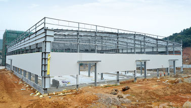 China Hot - dipped Galvanized C & Z Beams Garage Steel Frame House-Light steel frames supplier