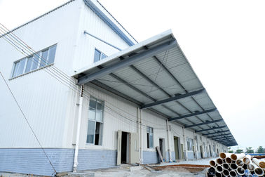 China Paint Treatment Garage Steel Frame Lightweight Steel Structures- Green Building supplier