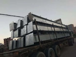 China Hot - dip Galvanized Warehouse Steel Structure Prefabricated ISO9001 supplier