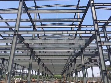 China Cheap Price Garage Steel Frame For  Africa Country Industrail Parks-Workshops supplier