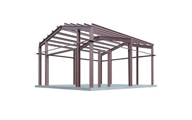 China Easy Erection Building Steel Frame / Pre Engineered Metal Buildings supplier