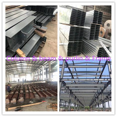 China S355 Material Steel Garage Buildings With Painting DIN GB Standard supplier