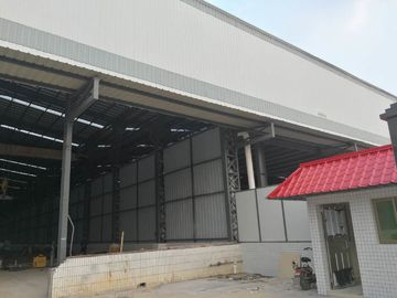 China Hot - Dipped Galvanized Workshop Steel Structure 4000 Square Meter supplier