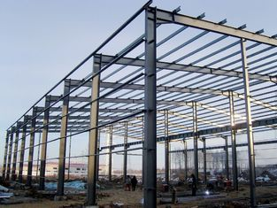 China Environment Friendly Prefabricated Steel Frame For School , Bus Station supplier