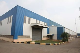 China Durable Industrial Steel Frame Building Prefabricated Workshop 、 supplier