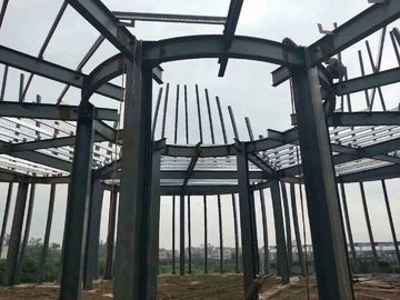 China Steel Tower Poultry Farm Steel Structure / Goods Storage Farm Water Tower supplier
