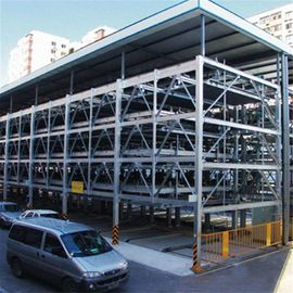 China Q345 Garage Steel Frame Hangar Car Parking Building / Plane Warehouse supplier