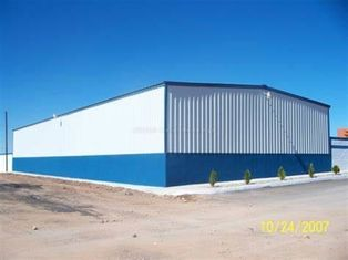 China Light Steel Frame Building System With Single Wall Claddying And Roof Sheeting supplier