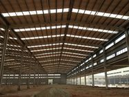 Good Quality Building Steel Frame & Customized H Beam Prefabricated Building Steel Frame For Industry workshop on sale