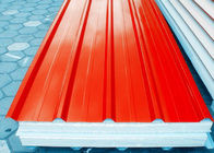 China Orange Prepainted Galvanized Steel Coil With Hot Dipping Processe factory
