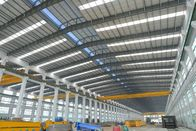 China Alkyd Paint Tubular Steel Structures With AWS , BS , EN , ISO Certificate company