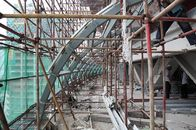U Channel High Rise Building Steel Frame Commercial For Shopping Mall