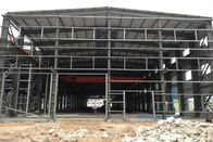 China Two Floors Steel Structure Workshop / Plant With Sliding Or Rolling Door factory