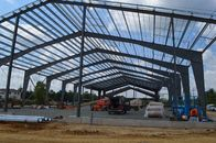 China Larger Span Building Steel Frame / Recyclable Steel Commercial Buildings factory