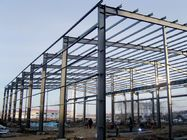 China Environment Friendly Prefabricated Steel Frame For School , Bus Station factory
