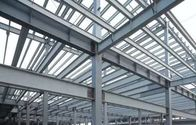 China Hot - Dip Galvanized Galvanized Steel Frame For Big Span Truss /Metal frame factory