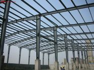 China Steel Frame Commercial Buildings Fabricated By Q345B With Painting factory
