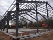 Commercial Construction Steel Frame Buildings Fabricated By Q345B With Painting