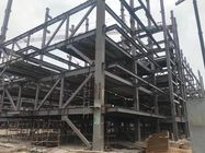 China High- Rise Steel Frame For Car Garage With Galvanized Steel Floor Decks factory
