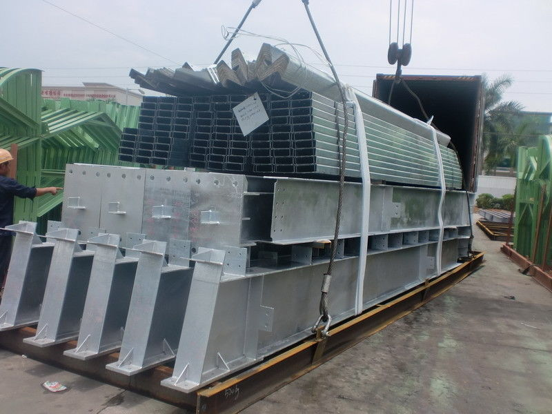 Prefabricated lightweight steel structures h section