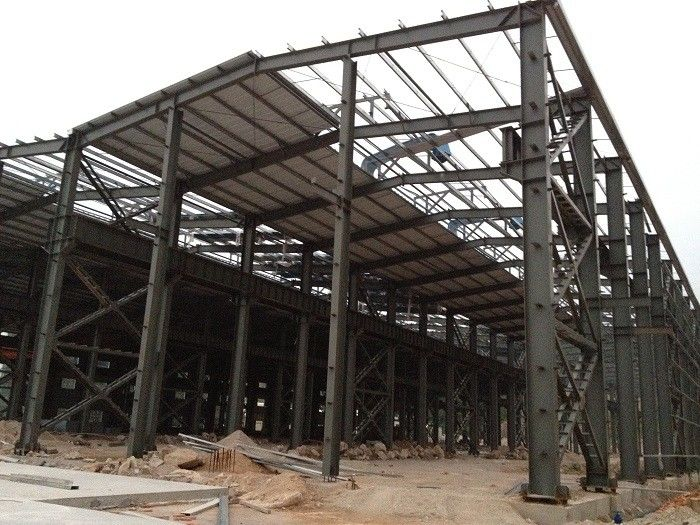 Building House Steel Frame Workshop And Office