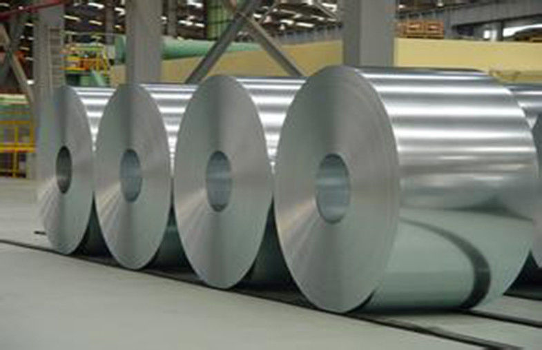 Hot Dipped Galvalume Steel Coil / Strip Aluminum Zinc Alloy Coated Steel