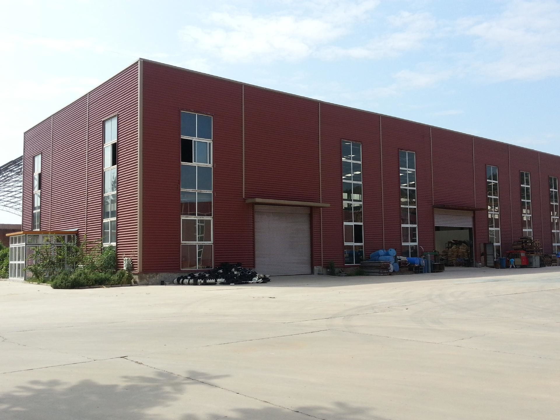 Supermarket And Logistic Warehouse Steel Structure Quick To Fabricat