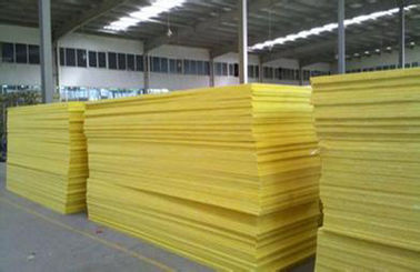 China 50mm Flame Resistant Glass Wool Pipe Insulation For External Walls distributor