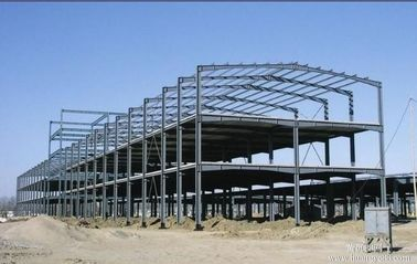 China Galvanized C & Z Beams Poultry Farm Structure With Roof And Wall Purlin distributor