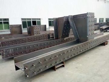 China Pre - Fabricated Warehouse Steel Frame With Steel Floor Decks Power Produce House distributor