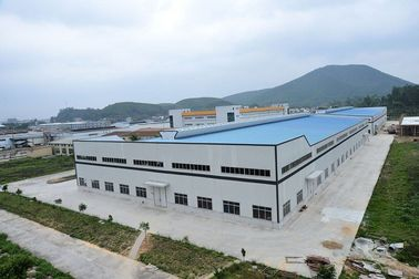 China Prefabricated Light Steel Structure Steel Frame Building Construction Metal Workshop Warehouse distributor